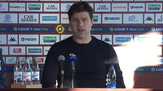 Imagen de vista previa para Pochettino descartó una lesión de gravedad para Mbappé