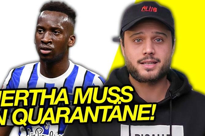 Hertha muss 2 Wochen in Quarantäne!