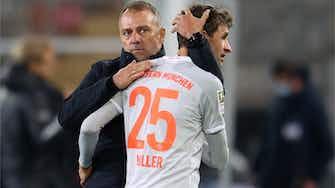 """Vorschaubild für Müller sieht """"kleinen Aufschwung"""" unter Bundestrainer Flick"""