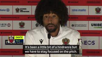 Preview image for Nice captain Dante condemns derby trouble