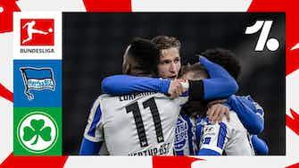 Imagem de visualização para Melhores momentos de Hertha Berlin vs. Greuther Fürth | 09/17/2021