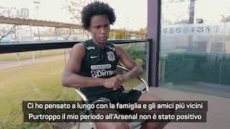 """Anteprima immagine per Willian: """"Diciamo che ero infelice all'Arsenal..."""""""