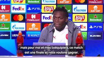 """Image d'aperçu pour Groupe B - Leao : """"Une finale contre Porto"""""""