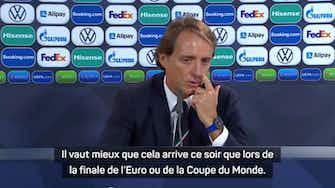 """Image d'aperçu pour Demies - Mancini : """"Tôt ou tard, nous devions perdre un match"""""""