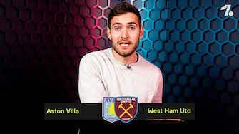 Preview image for PREDICTING Aston Villa vs West Ham!