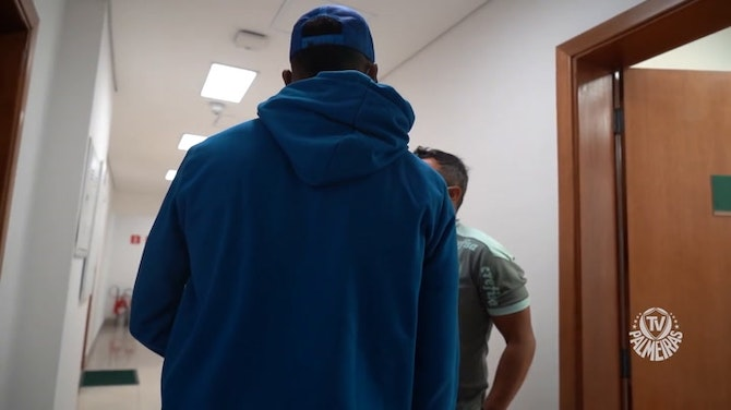 Preview image for Behind the scenes of Miguel Borja's return to Palmeiras