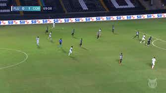 Preview image for Juan Cazares' maiden Fluminense goal