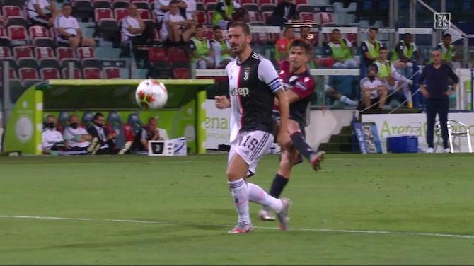 Vorschaubild für Zu viel gefeiert? Meister Juve blamiert sich in Cagliari   DAZN Highlights