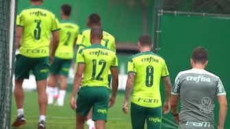 Imagem de visualização para Palmeiras segue em forte preparação para duelo com a Chape no Brasileirão