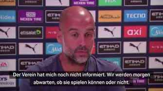 Vorschaubild für Guardiola und Tuchel kritisieren FIFA-Sperre
