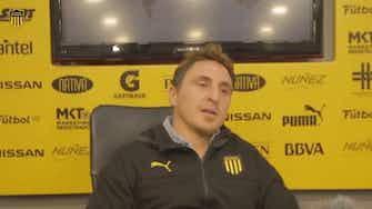 """Imagen de vista previa para 'Cebolla' Rodríguez, sobre tener a Forlán como entrenador: """"Es bravo, era compañero mío"""""""