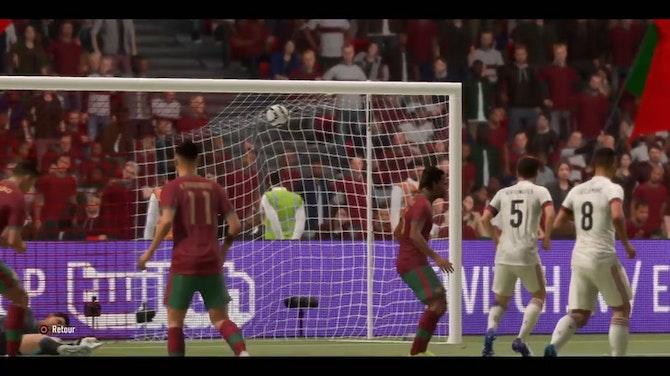 Doublé de Ronaldo contre la Belgique en 8es de l'Euro (FIFA)