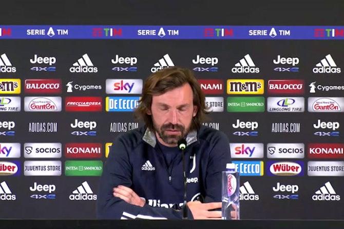 """Pirlo: """"Champions un obbligo. Agnelli? L'ho visto sereno"""""""