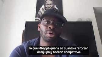 """Imagen de vista previa para Louis Saha: """"El fichaje de Messi es lo que Mbappé quería"""""""