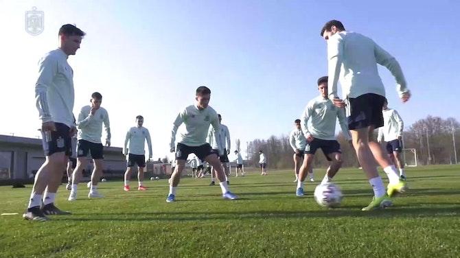 Imagen de vista previa para La Rojita se prepara para el gran duelo ante Italia