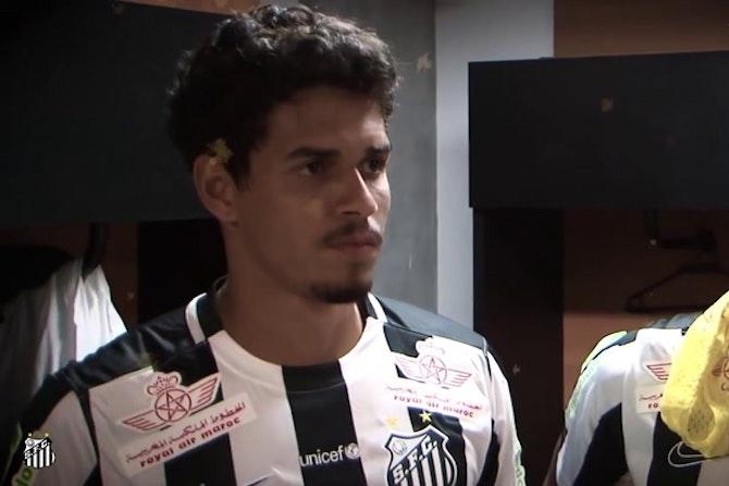 L'adieu de Lucas Veríssimo à Santos
