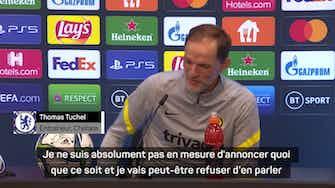 """Image d'aperçu pour Chelsea - Tuchel : """"Je n'ai rien à dire concernant Lukaku"""""""