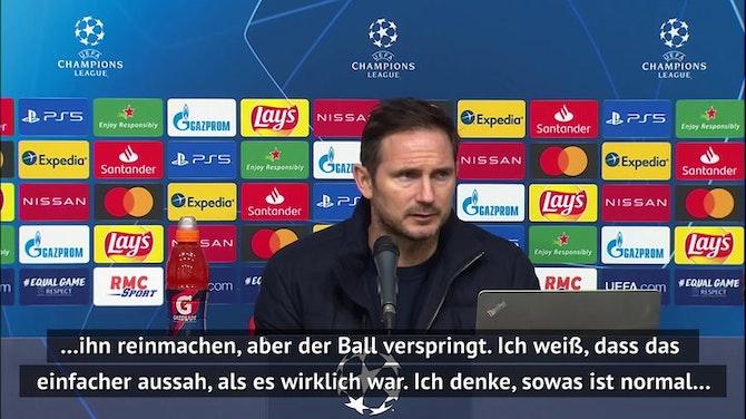 Lampard über vergebene Werner-Chance