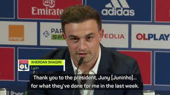 Preview image for New signing Shaqiri out to return Lyon to its previous glories