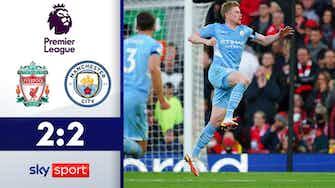 Vorschaubild für Spektakel im Topspiel | Highlights: Liverpool - Man City 2:2