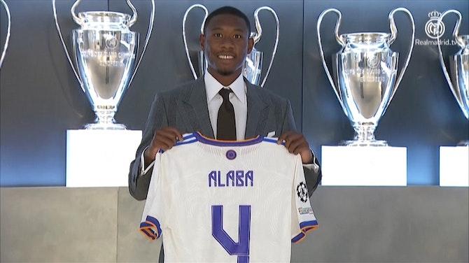 """Preview image for """"Eine Ehre"""" - Alaba erhält bei Real die 4 von Ramos"""