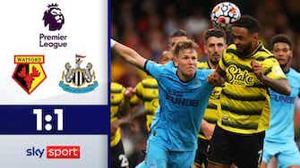 Vorschaubild für Sarr verhindert ersten Magpies-Sieg | FC Watford - Newcastle 1:1
