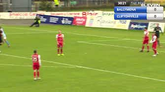 Preview image for Highlights: Ballymena United FC 1-0 Cliftonville FC