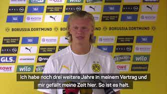 """Vorschaubild für Haaland über Chelsea-Gerüchte: """"Zu viel Geld"""""""