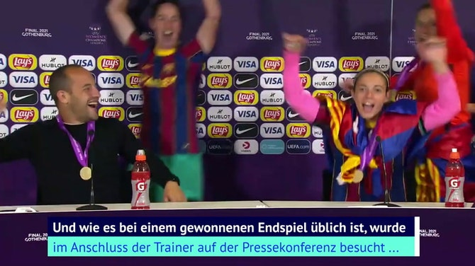 """Campeones, Campeones"": Barca-Team crasht PK"