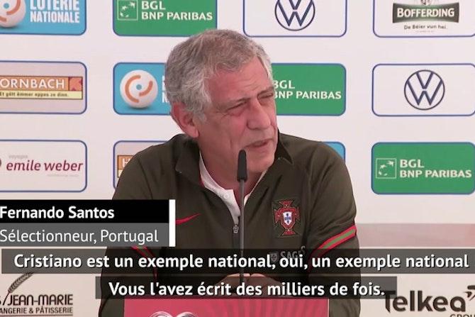 "Portugal - Santos : ""Ronaldo va garder le brassard"""