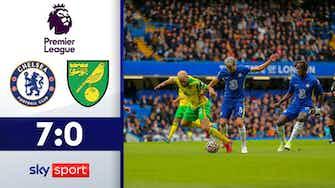 Vorschaubild für Hattrick für Mount! Blues feiern Schützenfest   Chelsea - Norwich City 7-0