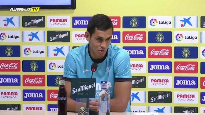 """Imagen de vista previa para Aïssa Mandi, en su presentación: """"Cuando te llama el Villarreal no hay que pensar mucho"""""""