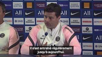 """Image d'aperçu pour Classique - Pochettino : """"Mauro est fort psychologiquement"""