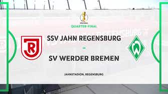 Image d'aperçu pour DFB Pokal Highlights: Jahn Regensburg 0-1 Werder Bremen