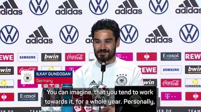 Preview image for Champions League final 'a big disappointment' for Gundogan
