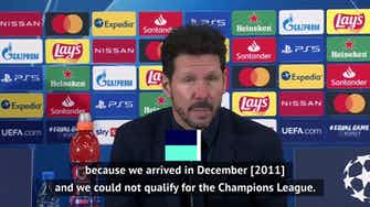 Preview image for Simeone dreaming big after Champions League qualification