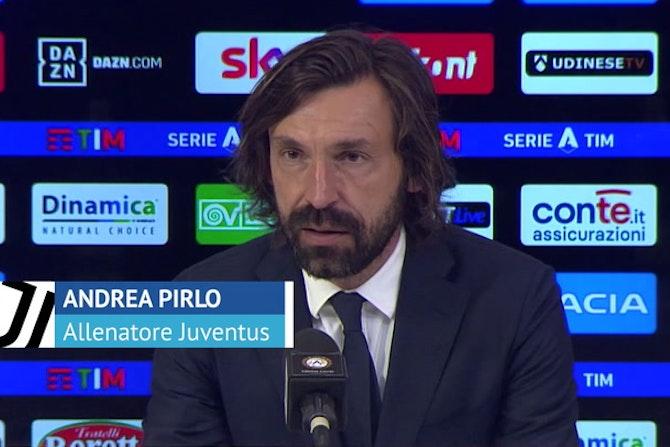 """Corsa Champions, Pirlo si aggrappa a Ronaldo: """"Ha voglia di vincere"""""""