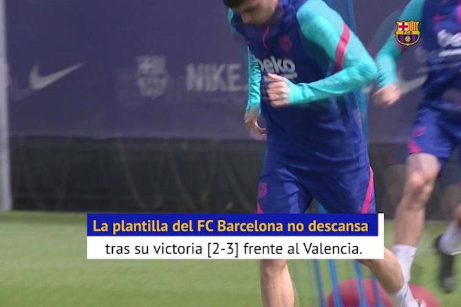 El Barcelona no descansa, y Henrik Larsson se suma al rondo