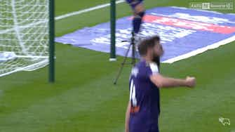 Preview image for Shinnie volleys home against Coventry
