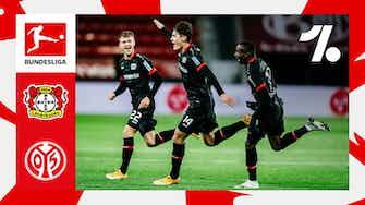 Imagem de visualização para Veja os lances de Bayer Leverkusen vs. Mainz | 09/25/2021