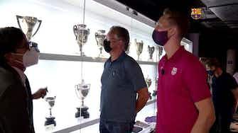 Imagen de vista previa para Visita guiada de Luuk de Jong en el Camp Nou