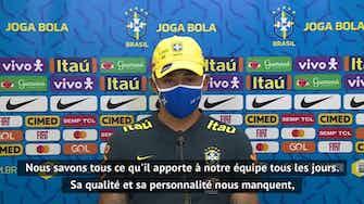 """Image d'aperçu pour Brésil - Jesus : """"La qualité et la personnalité de Neymar nous manquent"""""""