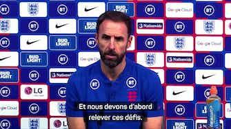 """Image d'aperçu pour Angleterre - Southgate : """"La Hongrie ? Un défi différent"""""""