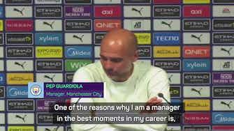 Preview image for Guardiola praises super human Jesus