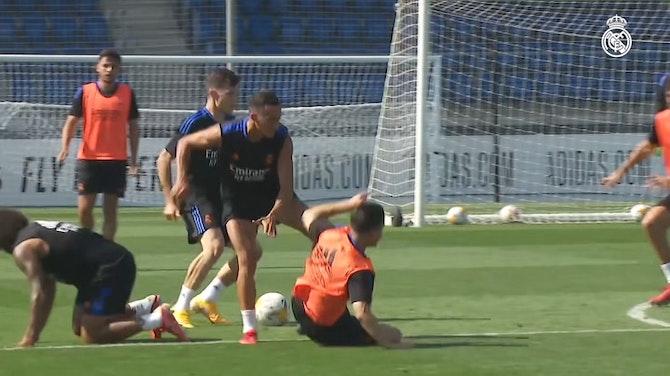 Imagen de vista previa para Tercera jornada de entrenamientos en Ciudad Real Madrid