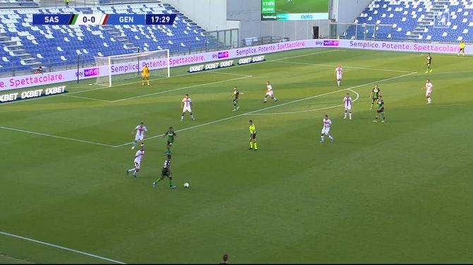 Vorschaubild für Serie A: Sassuolo - CFC Genua | DAZN Highlights (V2)