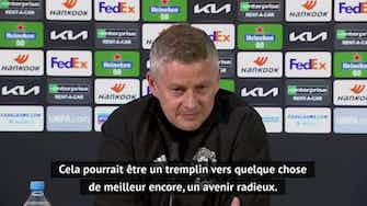 """Image d'aperçu pour Finale - Solskjaer: """"Une victoire en Ligue Europa ? Ce serait un tremplin vers un avenir radieux"""""""
