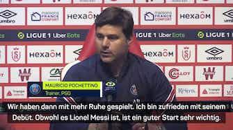 Vorschaubild für Pochettino über Messis Debüt und Causa Mbappe