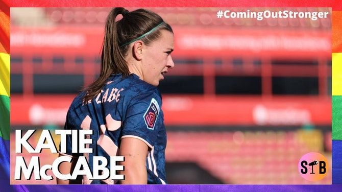 Preview image for Celebrating Katie McCabe   #ComingOutStronger