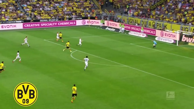 Melhores momentos de Sancho e Bellingham pelo Borussia Dortmund